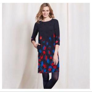 BODEN Floral Polka Dot Rachel Dress Spring Size 14